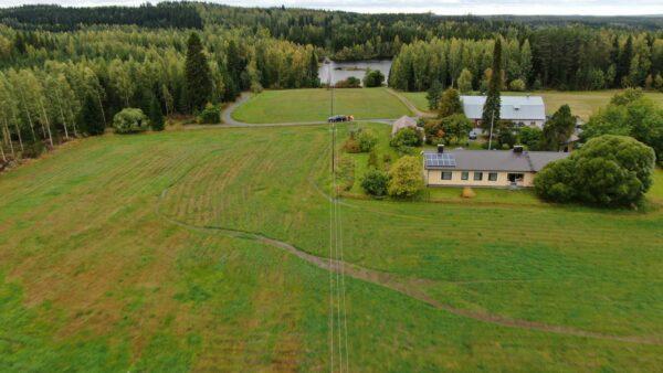 2020 autumn storm inspection PoC for Järvi-Suomen Energia and Kymenlaakson Sähkö in Finland